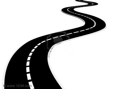 Paving road