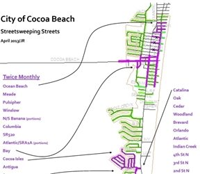 Street Sweeping Schedule